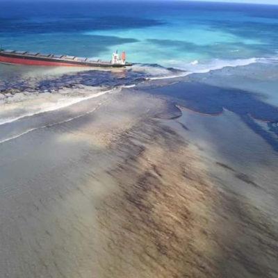 Marée Noire : les lagons du Sud-Est souillés